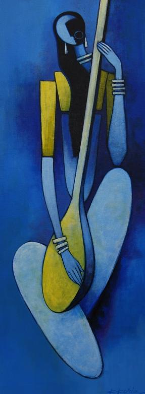 Blue Mira - 30cm x 70cm