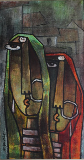 two village ladies