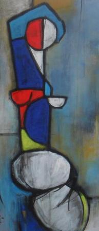 Abstract - 30cm x 80cm