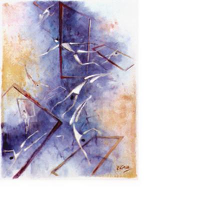 Maya - Acrylic on canvas