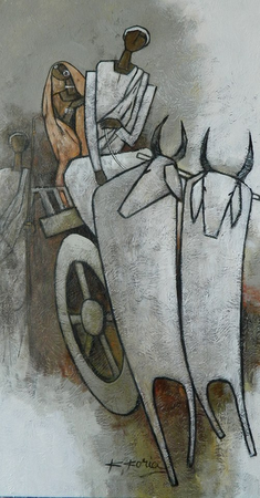 Journey - 76 x 40cm - Acrylic on canvas - £900